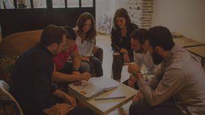 La bonne maison - réunion équipe