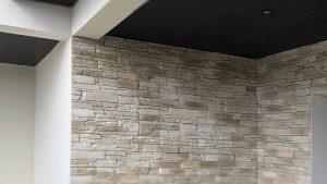 La Bonne Maison - Mur pierre