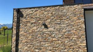 Pierre naturelle en parement de façade